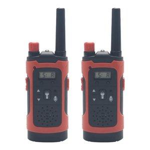 Mini Çocuk Walkie Talkies Oyuncak Çocuk Elektronik Radyo Ses Interkom Oyuncak Açık LCD Ekran Walkie Talkies