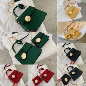 Frauen 2020 neuer koreanische Art und Weise der Frauen Trend Versatile Einzel-Schulter-Kurier Textur Kette Tasche Platz bagSmall Tasche kleines Platz Bagbag 8