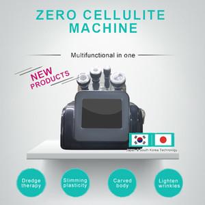 2020 Многофункциональный Face Lift 80k Ультразвуковая кавитация 5D Carving Instrument Rf вакуума Rf Вакуумная формирования тела для похудения машина