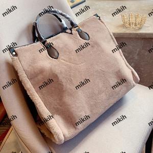 Hot fashion womens bags high quality womens handbags fashion design high-end lamb hair handbags large capacity shoulder bags