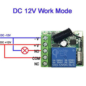 20pcs 433Mhz Universal Wireless Remote Control Switch DC 12V 1CH relay Receiver Module & 3pcs RF Transmitter