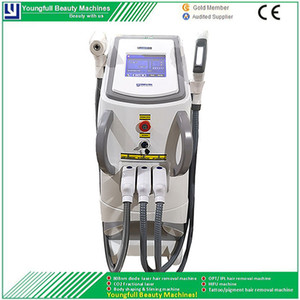 New Technology e-Light IPL Shr Hair Removal And Skin Rejuvenation Wrinkles Removal q Switch Nd Yag Laser Tattoo Remover