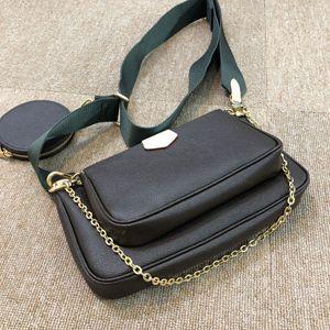 2021 Neue große Marke Luxury Star Designer Handtaschen Hohe Qualität One-Shoulder Messenger Bag Handtasche Drei-teiliges Set
