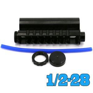 NAPA 4003 WIX 6 인치 나선 1 / 2-28 싱글 코어 알루미늄 튜브 자동차 연료 필터 24003 용제 (414)