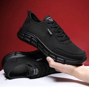 Men Casual Shoes Breathable Outdoor Mesh Light Sneakers Male Fashion Casual Shoes New Comfortable Casual Footwear Men Shoes 201008