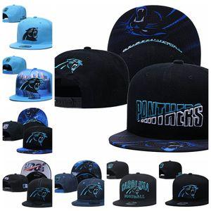 CarolinaPanthersHommes Sport Caps Hommes Femmes Enfants 2020 Série Tip-Off 59FIFTY snapback réglable Football Hat