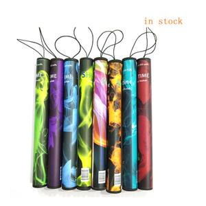 Shisha Time Pen e Tek Kullanımlık Elektronik Sigaralar Nargile Zaman E CIGS 500 Puffs 41 Türler E Nargile Kalem