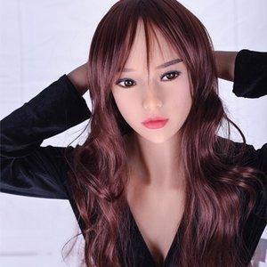 Sexy Adulto Mannequin real 158 centímetros boneca de alimentação japonesa Realistic Silicone Sex Dolls Fábrica Lifelike Ass Sex Love Doll Soft Toy Vagina Fo Emjp