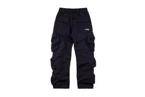 Herren Designer Hosen Travis Scott Poket Hosen TS Overalls Multi-Pocket Casual Hose Elastische Taille Retro Casual Hose Mode Jogginghose