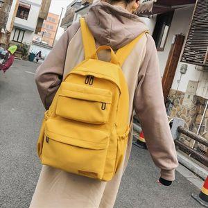 New Waterproof Nylon Backpack for Women Men Multi Pocket Travel Backpacks Female School Bag for Teenage Girls Book Bags Mochilas