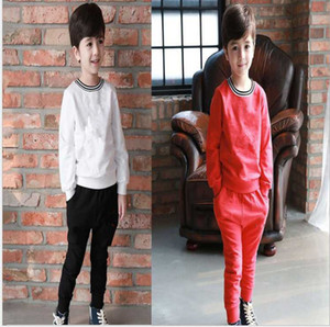 Thicken warm winter New Baby Boys And Girls T-shirts And long Suit Tracksuits Kids Clothing Set Hot Sell Fashion Summer Children's Clothing