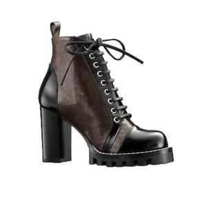 당나귀 Luxurys Womens Brands Martin 부츠 플랫폼 부팅 스노우 부팅 레이디 화이트 발목 부츠 디자이너 겨울 신발 크기 34-42