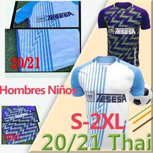 20 21 Malaga Soccer Jerseys Málaga 2020 2021 K. Bare Juanpi Adrian CF Camicia da calcio Bar Juankar Camiseta de fútbol Juande Hombres Uniformi