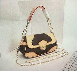 M69813 calda di vendita superiore di modo METIS borse Borse Classic metallo catena Hasp Mono Women Bag Tote Borse a tracolla in pelle 69813