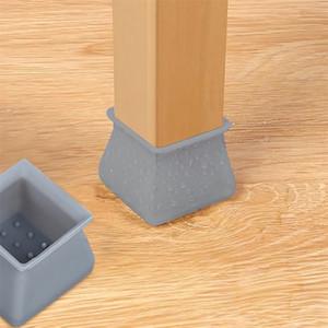 Table Leg Chaise Tapis silicone antidérapante Table Chaise Leg Caps Protection des pieds et de silicone Pied couverture sol protecteurs