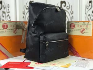 M30230 Discovery PM M45218 Herren Rucksack Klassische Leder Mode Rucksäcke Tasche Doppel Schulter Laptoptaschen Student Bookbag