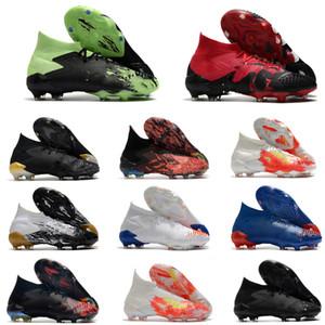 Мужские футбольные ботинки хищник Мутатор 20+ FG Футбольные Клеиты хищник 20.1 Высокие футбольные ботинки Горячие Открытые Скарпе Calcio Size39-45