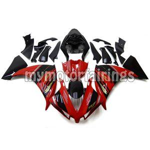 Bodywork pour 2012 2013 Yamaha YZF R1 2014 Faréings YZF1000 12 13 14 ABS Cadres de corps d'injection en plastique - rouge noir
