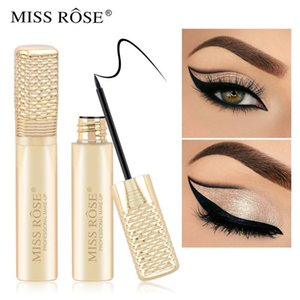 Miss Rose Beauty Makeup Liquid Eyeliner Waterproof Mascara Quick Dry Black Color Long Lasting Make Up Eye Liner Pencil TSLM1