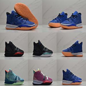İyi Satış Boyut 40-46 Üst Kalite Kyrie Irving 7 7 nesil El Fatima Erkekler gerçek basketbol ayakkabıları erkek spor ayakkabıları Spor ayakkabılar arasında