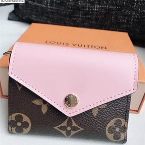 qianqianli1 BZQ1 pink old flower purse LONG WALLET CHAIN WALLETS COMPACT PURSE CLUTCHES EVENING KEY