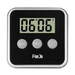 Digital Kitchen Timer Cooking Clock LCD Screen with Magnet Count Up Countdown Alarm Laboratory Stopwatch