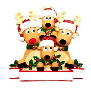 Atacado 2020 Árvore de Natal de suspensão Festival de Natal Decorações Home Camping partido ornamento Elk PVC boneca presente