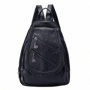 FGGS-Fashion Wild Lady сумка на ремне большой емкости Повседневной Личность сумка Малых Свежее Рюкзак B6Un #
