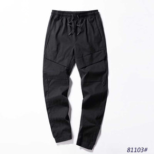 2020 New Stylish Mens Pants Autumn Style Fashion Mens Casual Solid Pocket Pants Fashion High Quality Casual Sport Long Trousers Joggers.