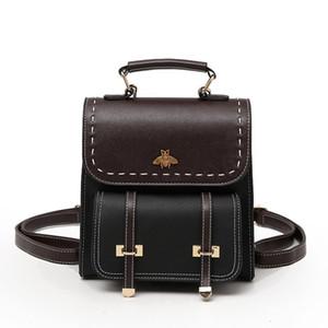 Rucksäcke, Bienen Schulranzen, hochwertige Damen-Briefpapier Reisetaschen, Schulranzen