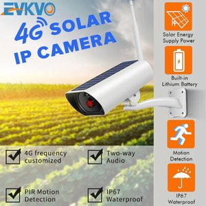 Solar Power 4G SIM Card Wireless IP Camera Recharge Battery 1080P 4X Zoom Audio IR Night View Outdoor Video Surveillance Camera