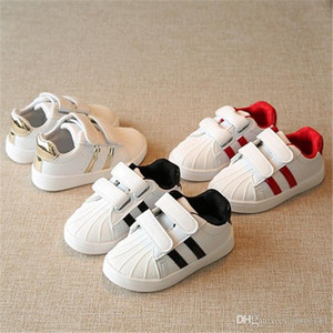 2021 New Brand Shell Head boy girls Sneakers classic children Kids Shoes new shoes trainers luxurys designers