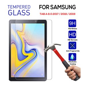 Tempered Glass for Samsung TAB A 8.0 2019 T290 T295 P200 Protective Film Screen Protector for Samsung Tab Cover