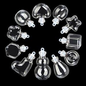 Mini Bouteilles en verre en caoutchouc Petit Plug liquide Vider Cadeaux Joint Jars Eco-Friendly alimentation Fioles Livraison gratuite