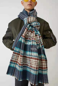 Высокое качество цвета плед Угри 2020classic зима имитация кашемира грубый шарф зимы универсальный теплый студент шеи утолщенной Hot шаль