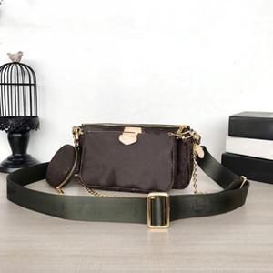 Сумки Multi Accessoires Женская Небольшая сумка для плеча Сумка Crossbody Сумка Дизайнер Роскошные Сумки Кошельки