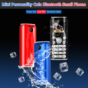 "Super Mini K8 Push Button Mobile Phone Dual Sim Bluetooth Camera Dialer 1.0"" Hands Telephone Celulares MP3 Smallest China Cheap cell phones"