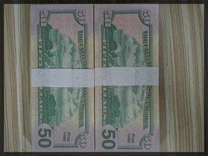 0999 Geld 50 UK 100Euro, Dollar, und Geschenke 20 Geld 100 Fake Geld Billet Movie 0111 Faux Billet Play Collection, gefälschte Propd-Cddor
