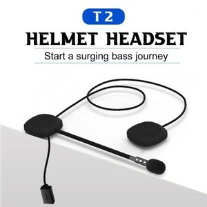 Casque de moto Docooler Bluetooth casque BT 5.0 Headsphones de sport de moto sans fil Prenez la réponse automatique avec MIC1