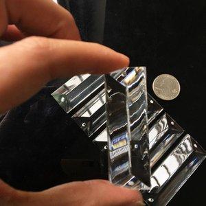 5pcs vidrio araña 6m cristal prisma colgante cariño cucláctico vidrio arte colgando ornamento casa decoración h jluffy