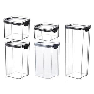 Multifunzionale pratico pratico comodo scatola di immagazzinaggio contenitore bottiglia di cereali a prova di umidità