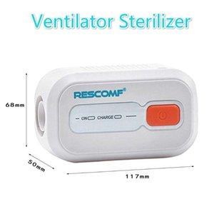 Máscara negativo de la batería recargable de ventilación esterilizador -Ion Apap BPAP Cara de desinfección para desinfección Ventilador CPAP Ottdp