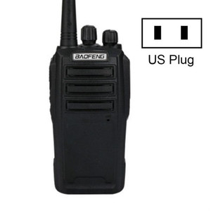 Baofeng BF-UV6D Civil Hotel Outdoor Construction Site Mobile High-power Walkie-talkie Plug SpecificationsUS Plug