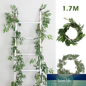 1.7M Artificial Ivy Leaf Garland Plants Vine Fake Foliage Flowers Home Decor Plastic Artificial Flower Rattan Evergreen