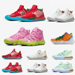 Scarpe da basket uomo spugna qualità Irving 5s ananas casa spugna graffiti 2s multicolore tramonto sportivo uomo scarpe uomo