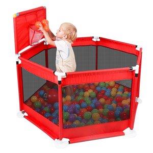 Playpen للأطفال playpen بروتس كرات الطفل playpen لمدة 0-6 سنوات الكرة بركة للطفل سياج أطفال خيمة الطفل خيمة الكرة بركة اللعب LJ200923
