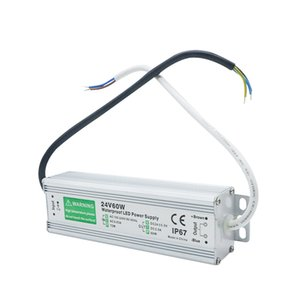 Высокое качество DC24V 150W 6.25A Водонепроницаемый IP67 Электронный LED Driver AC110V-260V Светодиодные полосы зажигает Transformer конвертер