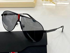 3347 Novo avançado óculos de sol populares mens óculos ovais com armação de metal e pernas simples estilo casual copos 100% caixa de protecção UV400 Enviar
