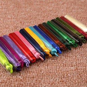 5pcs lote 23 colores 8 cm Cepillo de tassel de seda de algodón mixto para pendientes Charm Colgante borlas de satén para joyería de bricolaje Materiales H JLLLRPX