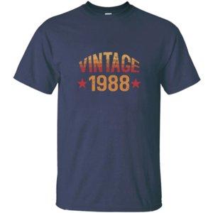 Nuovo arrivo personalizzato annata 1988 T-shirt uomo umoristico Hilarious girocollo comico magliette più il formato S 5XL sportiva Felpa con cappuccio Felpa con cappuccio